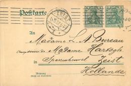 POSTKARTE 1907  ZEIST DEUTSCHES REICH - Alemania