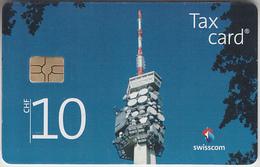 SWITZERLAND - PHONE CARD - TAXCARD SUISSE *** ANTENNE - 10 Chf *** - Switzerland