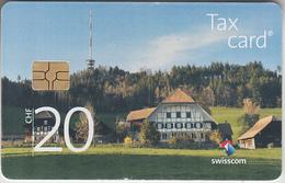 SWITZERLAND - PHONE CARD - TAXCARD SUISSE *** ANTENNE - 20 Chf *** - Switzerland