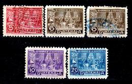 Guatemala-0153 - Emissione Di P.A.  1946 (+/o) Hinged/Used - - Guatemala