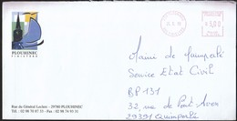 France Plouhinec 1999 / Church, Sailing / Machine Stamp - 1961-....