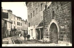 VENCE - 1304 : La Porte Du Signadom (Faute D´ Orthographe à Signadon) Et L´ Avenue Marcellin-Maurel (animée) - Vence