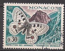 Monaco  (1970)  Mi.Nr.  966  Gest. / Used  (12ba18) - Gebraucht