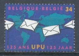 D- [154033] **/Mnh-[2814] Belgique 1999, 125 Ans De L'UPU, Union Postale Universelle, Le Courrier, SNC - Poste