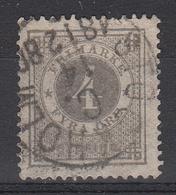 ZWEDEN - Michel - 1872 - Nr 18B (T/D 13:13 1/2)- Gest/Obl/Us - Oblitérés