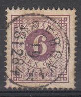ZWEDEN - Michel - 1872 - Nr 20B (T/D 13:13 1/2)- Gest/Obl/Us - Suède