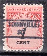 USA Precancel Vorausentwertung Preo, Locals South Carolina, Travelers Rest 734 - Vereinigte Staaten