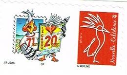 Nouvelle Caledonie Timbre Personnalise A Moi Prive Cagou Generique Club Salon Collectionneur 2eme Neuf Unc 17 Feuilles - Nouvelle-Calédonie