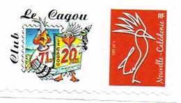 Nouvelle Caledonie Timbre Personnalise A Moi Prive Cagou Club Salon Collectionneur 2eme Neuf Unc 3 Feuilles SANS SIGN RR - Nouvelle-Calédonie