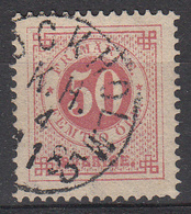 ZWEDEN - Michel - 1872 - Nr 25B (T/D 13:13 1/2) - Gest/Obl/Us - Suède