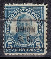 USA Precancel Vorausentwertung Preo, Locals South Carolina, Union 637-712 - Vereinigte Staaten