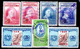 Guatemala-0155 - Emissione Di P.A.  1947-1949 (+/o) LH/Used - - Guatemala