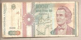 Romania - Banconota Circolata Da 1000 Lei P-101 Aa.2 - 1991 - Romania