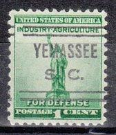 USA Precancel Vorausentwertung Preo, Locals South Carolina, Yamassee  632 - Vereinigte Staaten