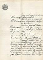 Certificat Notarial De Prêt De 1911 écrite à Roquevaire (13) - Cachets Généralité
