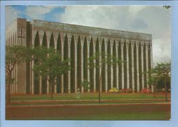 Brasilia (Brasil) Vista Externa Da Igreja S. Joao Bosco 2 Scans Coccinelle Volkswagen - Brasilia
