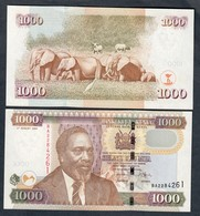 KENIA 1000 SHILLINGS Shilingi 2004 ELEPHANT LOTTO 1867 - Kenia