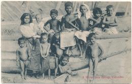CEYLON, Colombo - A River Side Group - Sri Lanka (Ceylon)