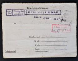 CP Prisonnier De Guerre Du STALAG 344 Camp Disciplinaire Lambinowice POLOGNE TAXE PERCUE Vers NOUVELLE-ZELANDE Juin 1944 - Guerre De 1939-45