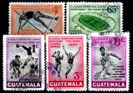 Guatemala-0158 - Emissione Di P.A.  1950 (o) Used - - Guatemala
