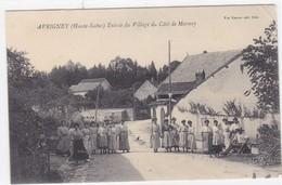 Haute-Saône - Entrée Du Village Du Côté De Marnay - Other Municipalities