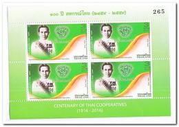 Thailand 2016, Postfris MNH, Centenary Of Thai Coöperatives - Thailand
