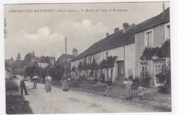 Haute-Saône - Chassey-les-Montbozon - Route De Lure à Besançon - France