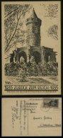 3. Reich - DR Postkarte ,Saarabstimmung , Zurück Zum Reich: Gebraucht Saarbrücken - Oldenburg 1935 , Bedarfserhaltung. - Deutschland