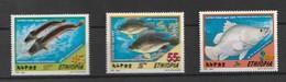 Ethiopia 2001 Freshwater Fish  3v Mnh - Etiopía