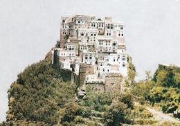 1 AK Jemen Yemen * Traditionelle Turmhäuser Als Festung Auf Einem Berg Errichtet * - Yemen