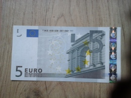 Trichet 2002 U497.... L027 I5 Billet NEUF - EURO