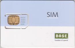 BELGIQUE -  GSM & SIM ***  SIM - BASE *** - Belgium