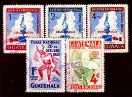 Guatemala-0160 - Emissione Di P.A.  1953 (o) Used - - Guatemala