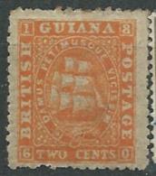 Guyane Britannique   - Yvert N°  16 (*) Gomme Altérée )   -   Aab 18326 - Guyane Britannique (...-1966)