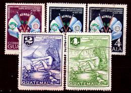 Guatemala-0161 - Emissione Di P.A.  1954 (o) Used - - Guatemala