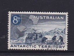 Australian Antarctic Territory  S 4 1959 Definitives 8 D Blue Used - Used Stamps