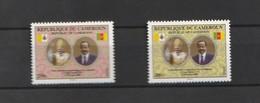 Cameroun - Cameroon 2009, Popes Visit 2v Mnh - Cameroon (1960-...)