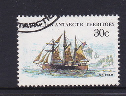 Australian Antarctic Territory  S 46 1979-1982 Definitive Ships 30c  Fram Used - Used Stamps