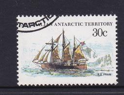 Australian Antarctic Territory  S 46 1979-1982 Definitive Ships 30c  Fram Used - Australian Antarctic Territory (AAT)