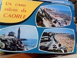 12 CARD  CAORLE  VEDUTE VARIE VBN1966/84 GS1747 - Venezia
