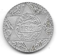 2 1/2 Dirham Abdulaziz (Maroc) 1321 - 1903 Argent - Marruecos