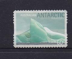 Australian Antarctic Territory  S 186c 2011 Icebergs Selfadhesive 60c Iceberg,used, - Australian Antarctic Territory (AAT)