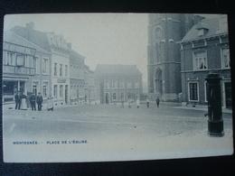 Montegnée : Place De L'église Avant 1906 - Saint-Nicolas