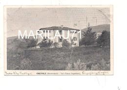 M6088 TOSCANA GRETOLE MONTEVARCHI AREZZO VILLA BATTAGEI 1905 Viaggiata - Teramo