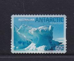 Australian Antarctic Territory  S 187c 2011 Icebergs Selfadhesive 60c Iceberg,used, - Used Stamps