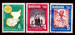 Guatemala-0163 - Emissione Di P.A.  1956 (o) Used - - Guatemala