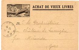 Librairie M. LE DAULT - QUIMPER - Illustration Malo Renault - Achat Vieux Livres   (107103) - Magasins
