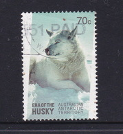 Australian Antarctic Territory  S 219 2014 Era Of The Huskiy ,70c Used, - Used Stamps