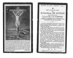 33a BP. De Keyser Volkegem 13 Aug.1877 Oudenaarde 18 Feb.1921 - Godsdienst & Esoterisme