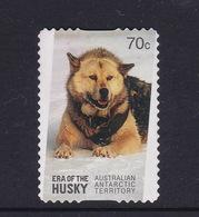 Australian Antarctic Territory  S 222 2014 Era Of The Huskiy ,70c Self Adhesive,used - Australian Antarctic Territory (AAT)
